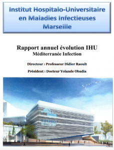 Rapport IHU mediterraneen Mehdi Bouricha