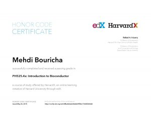 Verify Certificate online : HarvardX Harvard University - PH525.4x Introduction to Bioconductor