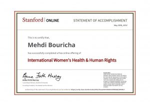 Stanford - WomensHealth International Women's Health & Human Rights