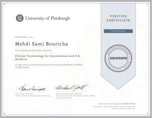 Verify Certificate online :
