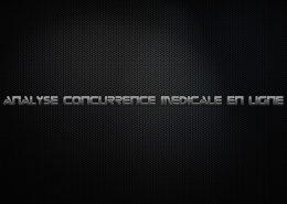 analyse de la concurrence medicale en ligne